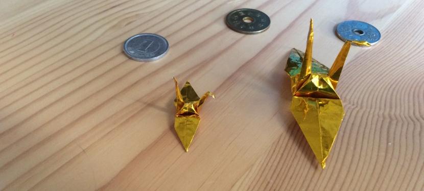 Wish Peace, and make origamicrane