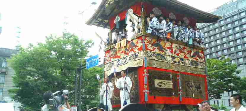 Gion Matsuri Festival that has over 1100 years history