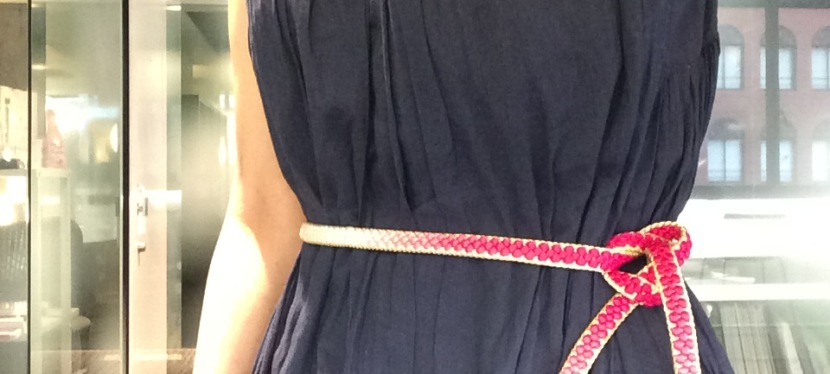 Hand Braided Japanese Kimono Tie(Obi-jime)